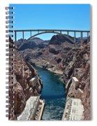 Beyond The Hoover Dam Spillway Spiral Notebook