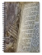 Bible Pages Spiral Notebook