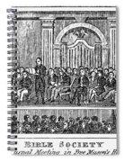Bible Societies Spiral Notebook