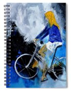 Bicycle 77 Spiral Notebook