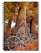 Bicycle Built For Two Spiral Notebook