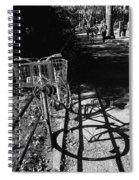 Bicycle Shadow 2 Spiral Notebook