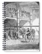 Bicycle Tournament, 1869 Spiral Notebook