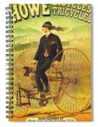 Bicycles And Tricycles Spiral Notebook
