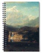 Bierstadt: Rockies Spiral Notebook