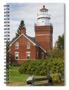Big Bay Point Lighthouse 4 Spiral Notebook
