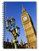 Big Ben And Palace Of Westminster Spiral Notebook