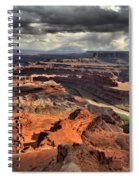 Big Bend In The Colorado Spiral Notebook