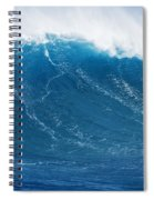 Big Blue Wave Spiral Notebook
