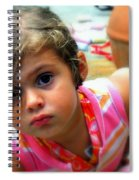 Big Brown Eyes Spiral Notebook