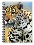 Big Cat Spiral Notebook