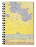 Big Clouds Spiral Notebook