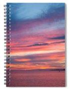 Big Florida Sunset Spiral Notebook