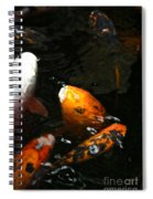 Big Lip Koi Spit Spiral Notebook