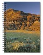 Big Muddy Badlands, Saskatchewan, Canada Spiral Notebook