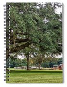 Big Oak And The Tractors Spiral Notebook