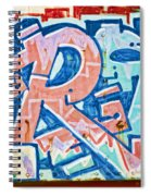 Big Orange R Spiral Notebook