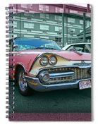 Big Pink Dodge Spiral Notebook