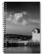 Big Red Lighthouse In Holland Michigan Spiral Notebook