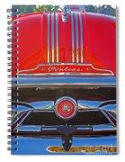Big Red Pontiac Spiral Notebook