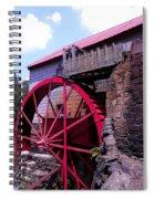 Big Red Wheel Spiral Notebook
