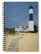 Big Sable Lighthouse In Ludington Michigan Number 3 Spiral Notebook