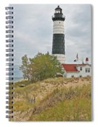 Big Sable Lighthouse Spiral Notebook