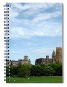 Big Sky Nyc Spiral Notebook