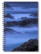 Big Sur Mist Spiral Notebook