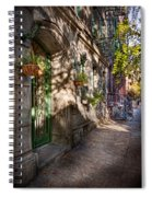 Bike - Ny - Greenwich Village - The Green District Spiral Notebook