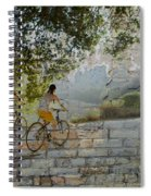 Bikes And Bricks Spiral Notebook