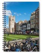 Bikes Cambridge Spiral Notebook