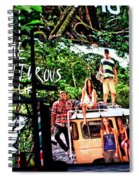 Billboards In Times Square Spiral Notebook