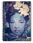 Billie's Eyes Spiral Notebook