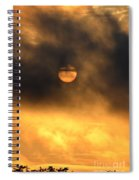 Billowing Sunrise Spiral Notebook