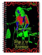 Billy Gets Psychedelic Spiral Notebook