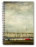 Biloxi Bay Bridge Spiral Notebook