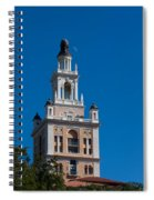 Biltmore Hotel Tower And Moon Spiral Notebook