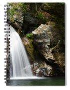 Bingham Falls Stowe Vermont Spiral Notebook