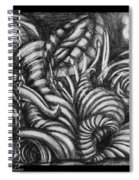 Biomorphic Spiral Notebook