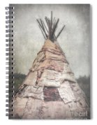 Birch Teepee Spiral Notebook