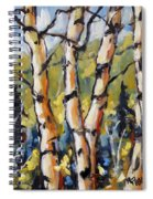 Birches Aglow By Prankearts Spiral Notebook