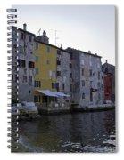 Bird Over Rovinj Spiral Notebook