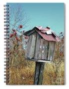 Bird Shack Spiral Notebook