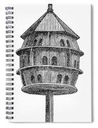 Birdhouse, 19th Century Spiral Notebook