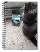 Birding Cat One Spiral Notebook