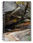 Birdrock Waterfall Spiral Notebook