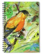 Birds 01 Spiral Notebook