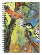 Birds 03 Spiral Notebook