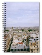 Panoramic Paris Spiral Notebook